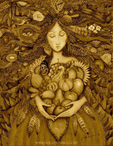 Harvest Goddess by Holly Sierra